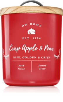 DW Home Farmhouse Crisp Apple & Pear scented candle