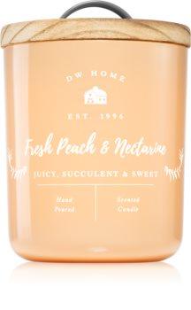 DW Home Farmhouse Fresh Peach & Nectarine scented candle