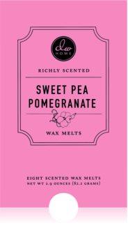 DW Home Sweet Pea Pomegranate ceară pentru aromatizator