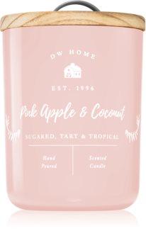 DW Home Farmhouse Pink Apple & Coconut lumânare parfumată