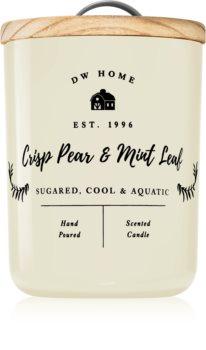 DW Home Farmhouse Crisp Pear & Mint Leaf lumânare parfumată