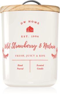 DW Home Farmhouse  Wild Strawberry & Nectarine Duftkerze