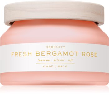 DW Home Fresh Bergamot Rose scented candle