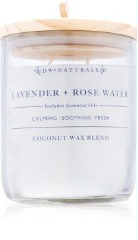 DW Home Lavender + Rose Water lumânare parfumată