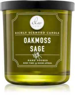 DW Home Oakmoss Sage scented candle