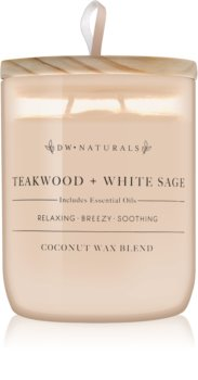 DW Home Teakwood + White Sage dišeča sveča