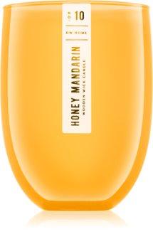 DW Home Honey Mandarin duftkerze  mit Holzdocht