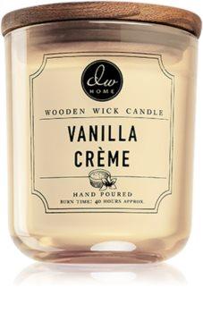 DW Home Vanilla Créme αρωματικό κερί με ξύλινο φιτίλι
