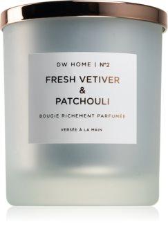 DW Home Fresh Vetiver & Patchouli vonná sviečka