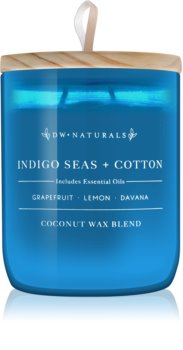 DW Home Indigo Seas + Cotton scented candle