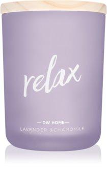 DW Home Relax ароматическая свеча