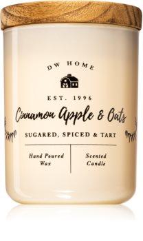DW Home Cinnamon Apple & Oats lumânare parfumată
