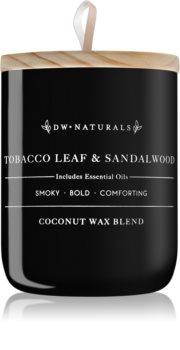 DW Home Tobacco Leaf + Sandalwood vonná sviečka