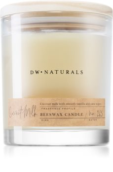 DW Home Beeswax Coconut Milk scented candle