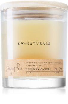 DW Home Beeswax Honeyed Pear geurkaars