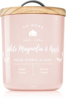 DW Home Farmhouse White Magnolia & Apple mirisna svijeća
