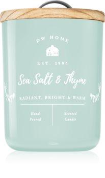 DW Home Farmhouse Sea Salt & Thyme świeczka zapachowa