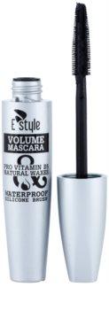 E style Volume Waterproof Mascara máscara voluminizadora para multiplicar el volumen de las pestañas