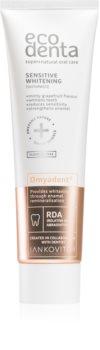 Ecodenta Sensitive Whitening bleichende Zahnpasta für empfindliche Zähne