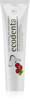 Ecodenta Green Tartar Eliminating osvežujoča zobna pasta proti zobnemu kamnu s fluoridom