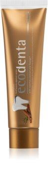 Ecodenta Expert Cinnamon pasta do zębów z fluorem przeciw próchnicy