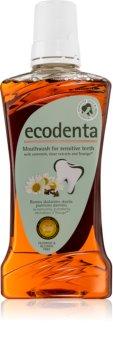 Ecodenta Green Sensitivity Relief elixir bocal para dentes sensíveis