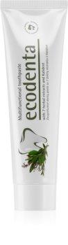 Ecodenta Green Multifunctional dentifrice au fluorure pour une protection complète des dents