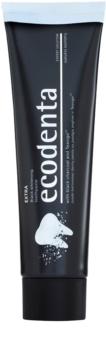Ecodenta Expert Extra dentífrico branqueador com carvão preto