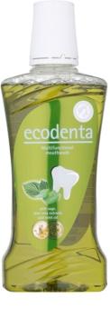 Ecodenta Green Multifunctional Elixir bucal para uma frescura de longa duração