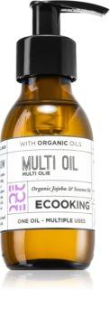 Ecooking Eco Monitoiminen Öljy Kasvoille, Vartalolle ja Hiuksille