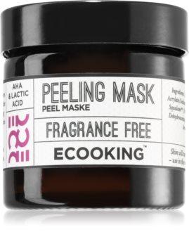 Ecooking Eco máscara de peeling para limpeza profunda