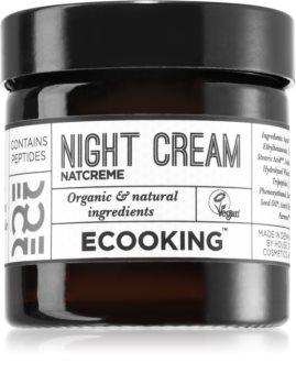 Ecooking Eco crema de noapte pentru fata antirid