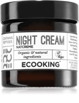 Ecooking Eco Night Cream with Anti-Wrinkle Effect