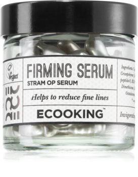 Ecooking Eco Firming Facial Serum In Capsules