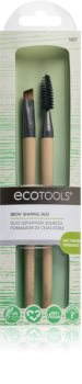 EcoTools Brow Shaping Duo Brush Set VI. for Women