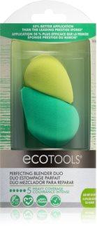 EcoTools Perfecting Blender Duo houbička na make-up 2 ks