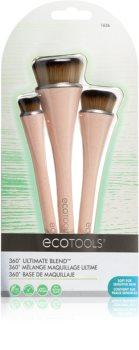 EcoTools 360° Ultimate Blend™ kit de pinceaux pour femme