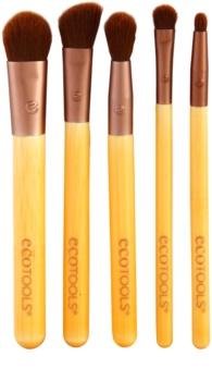 EcoTools Essential set de brochas para ojos
