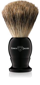 Edwin Jagger Silver Tip Ebony Rasierpinsel