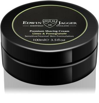 Edwin Jagger Limes & Pomegranate krém na holení pro smíšenou pleť