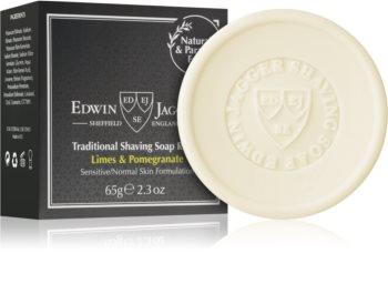 Edwin Jagger Limes & Pomegranate mydlo na holenie náhradná náplň