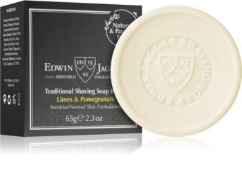 Edwin Jagger Limes & Pomegranate săpun pentru bărbierit rezervă