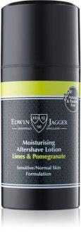 Edwin Jagger Limes & Pomegranate βάλσαμο για μετά το ξύρισμα για μικτή επιδερμίδα