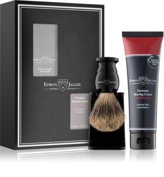 Edwin Jagger Sandalwood set de bărbierit I. (pentru piele normala) pentru bărbați