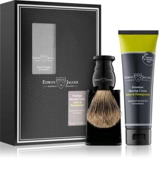 Edwin Jagger Limes & Pomegranate комплект за бръснене I. (за чувствителна кожа на лицето) за мъже