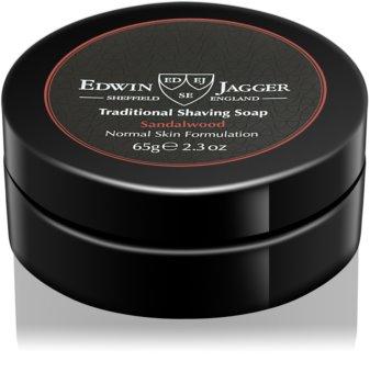Edwin Jagger Sandalwood Σαπούνι ξυρίσματος για κανονική επιδερμίδα