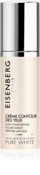 Eisenberg Pure White Crème Contour des Yeux Anti - Wrinkle Radiance Cream for Eye Area