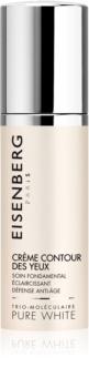 Eisenberg Pure White Crème Contour des Yeux rozjasňující protivráskový krém na oční okolí