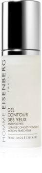 Eisenberg Homme Gel Contour des Yeux osvježavajući gel za oči protiv bora, oticanja i tamnih krugova