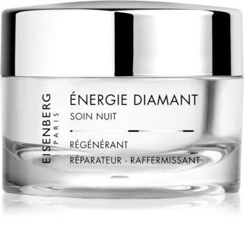 Eisenberg Excellence Énergie Diamant Soin Nuit regenerierende Anti-Falten Creme für die Nacht mit Diamantpulver